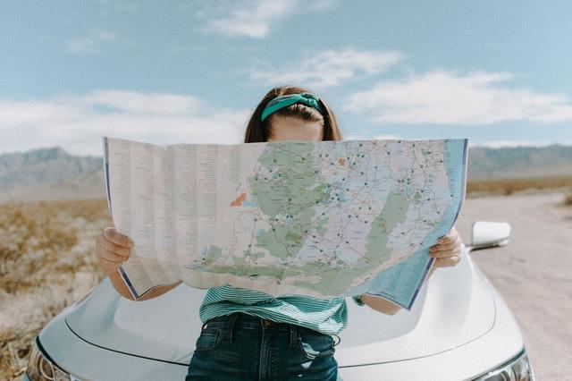 mapa podróży, co zabrać w podróż